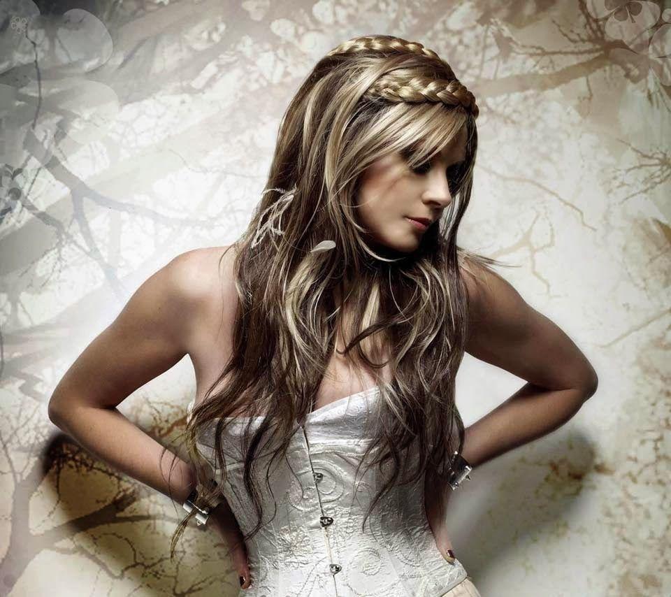 peinados y maquillaje de moda peinados de fiesta de pelo largo