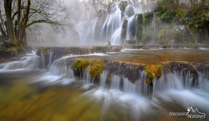 World Of Mist By Horizons Naturels On 500px Waterfall Tufs Falls Arbois Jura France Water Longexposure