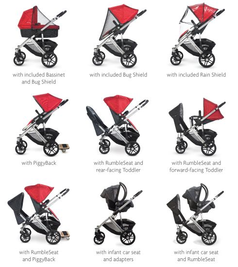43++ Uppababy vista rumble seat weight limit info
