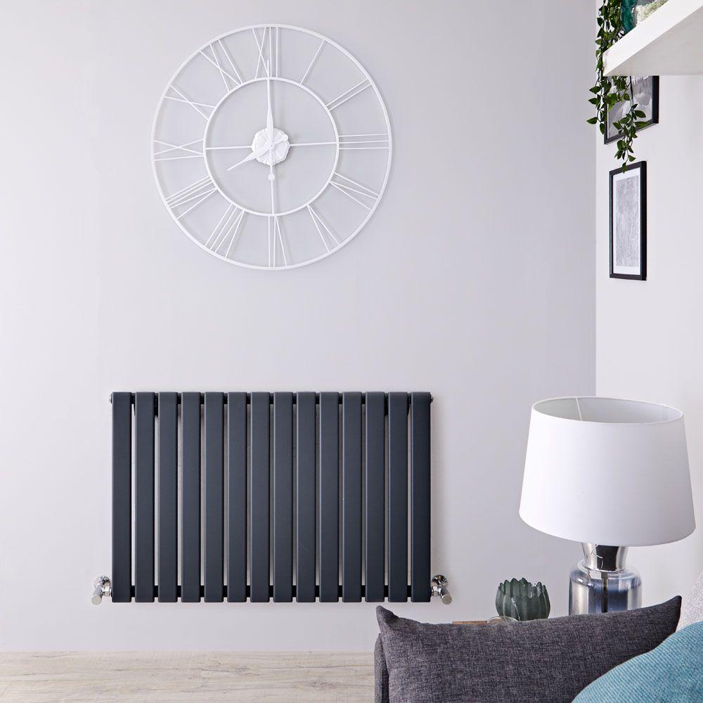 Cheap Anthracite Horizontal Designer radiators High Heat output Modern rads