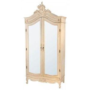 French Louis Style Armoire Wardrobe H 234 X D 54 X W 110cm