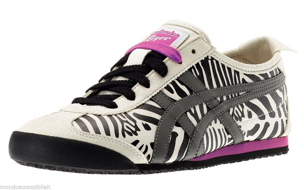 onitsuka tiger mexico 66 black grey zebra