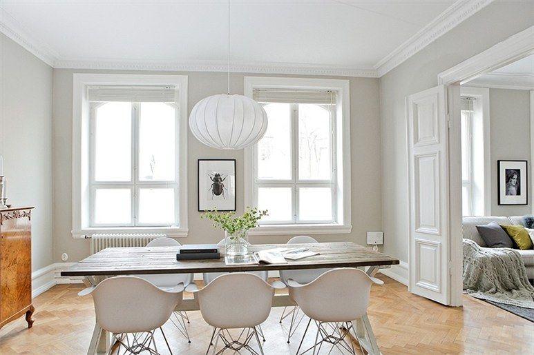 Paredes blancas y grises ideas para el hogar pinterest paredes blancas gris y pintura paredes - Paredes salones modernos ...