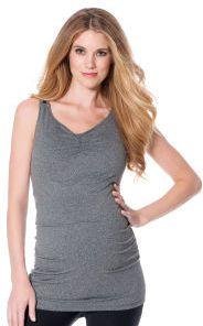 e0a4c73ce1224 Motherhood Jessica Simpson Sleeveless Scoop Neck Cross Back Maternity Tank  Top on shopstyle.com