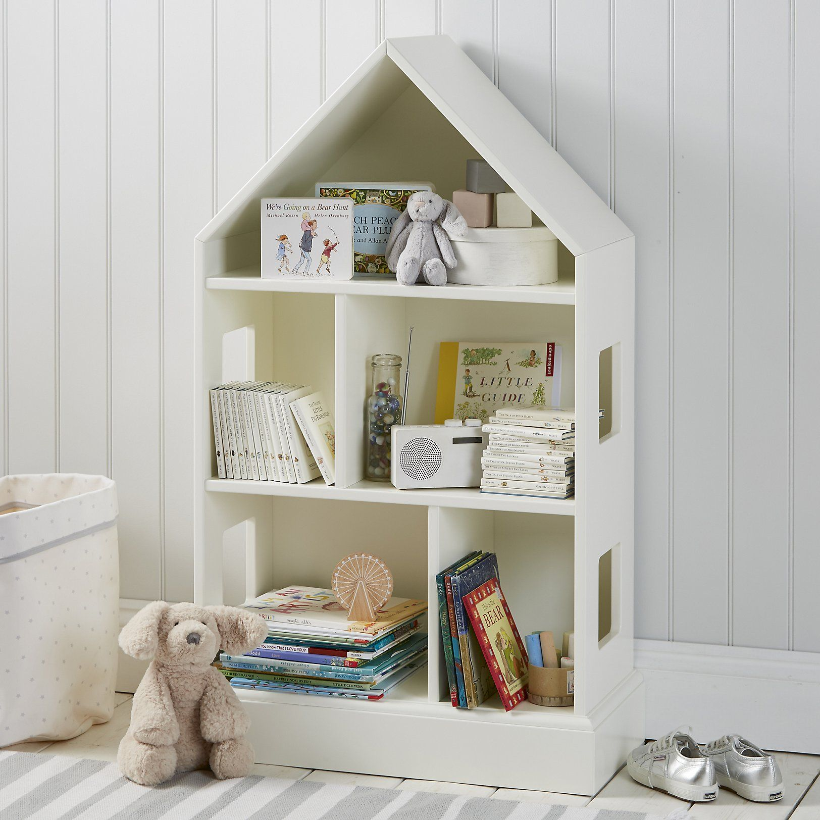 Via The White Company - Lolly Asks For Your Help In Sourcing Stylish Storage Solutions For Kitchens And Childrens' Bedrooms That Are Practical And Budget Friendly.
