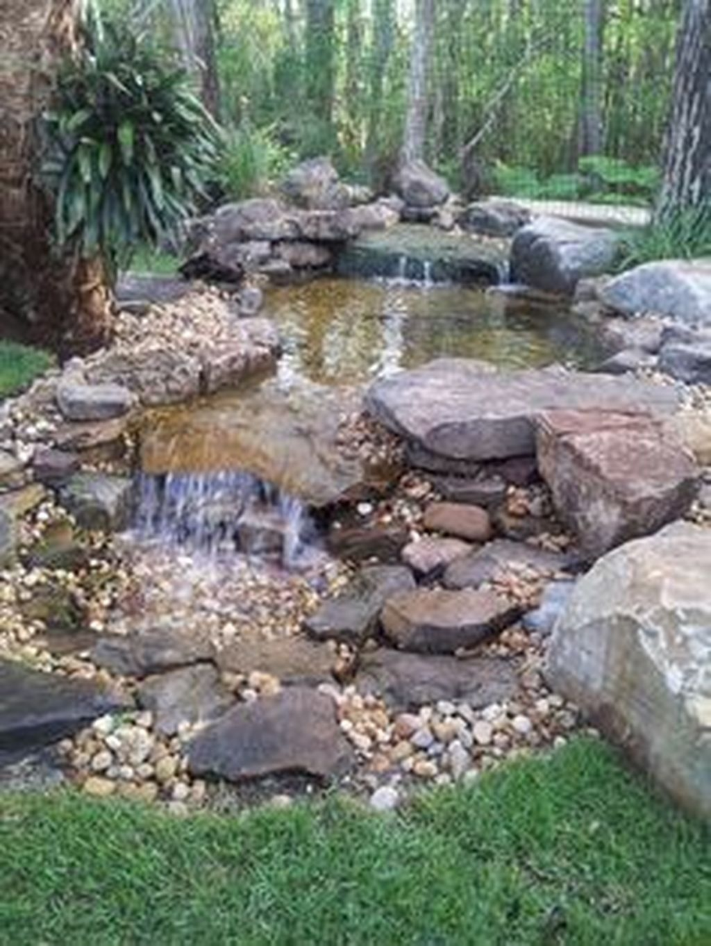Creative Ways To Maximize A Small Garden Water Features In The Garden Waterfalls Backyard Ponds Backyard