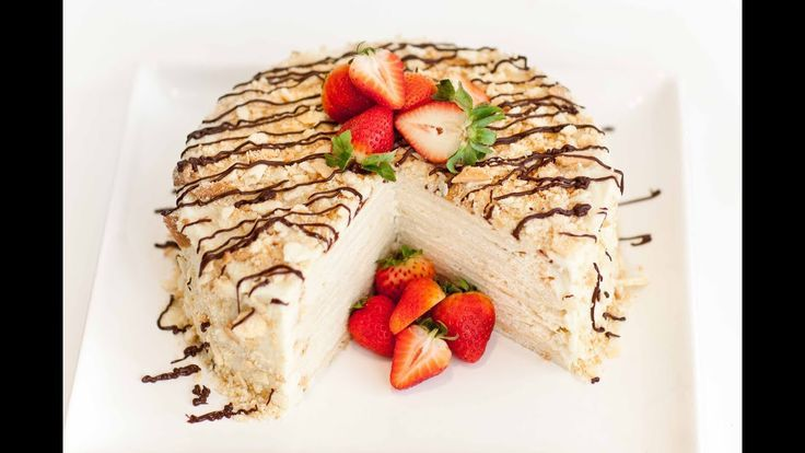 Wie man Napoleon-Kuchen macht - Napoleon-Kuchen - YouTube - #kuchen #macht #napoleon #youtube - #Hannah'sNapoleonKuchenRezept #napoleonkuchenrussisch