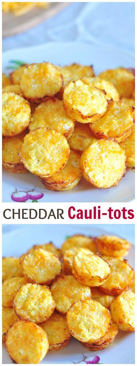 #lebensmittel Your Kids Are Going to Eat These Cheddar Cauli-Tots Like You Can't Imagine – lebensmittel – Carey&CleanEatingS