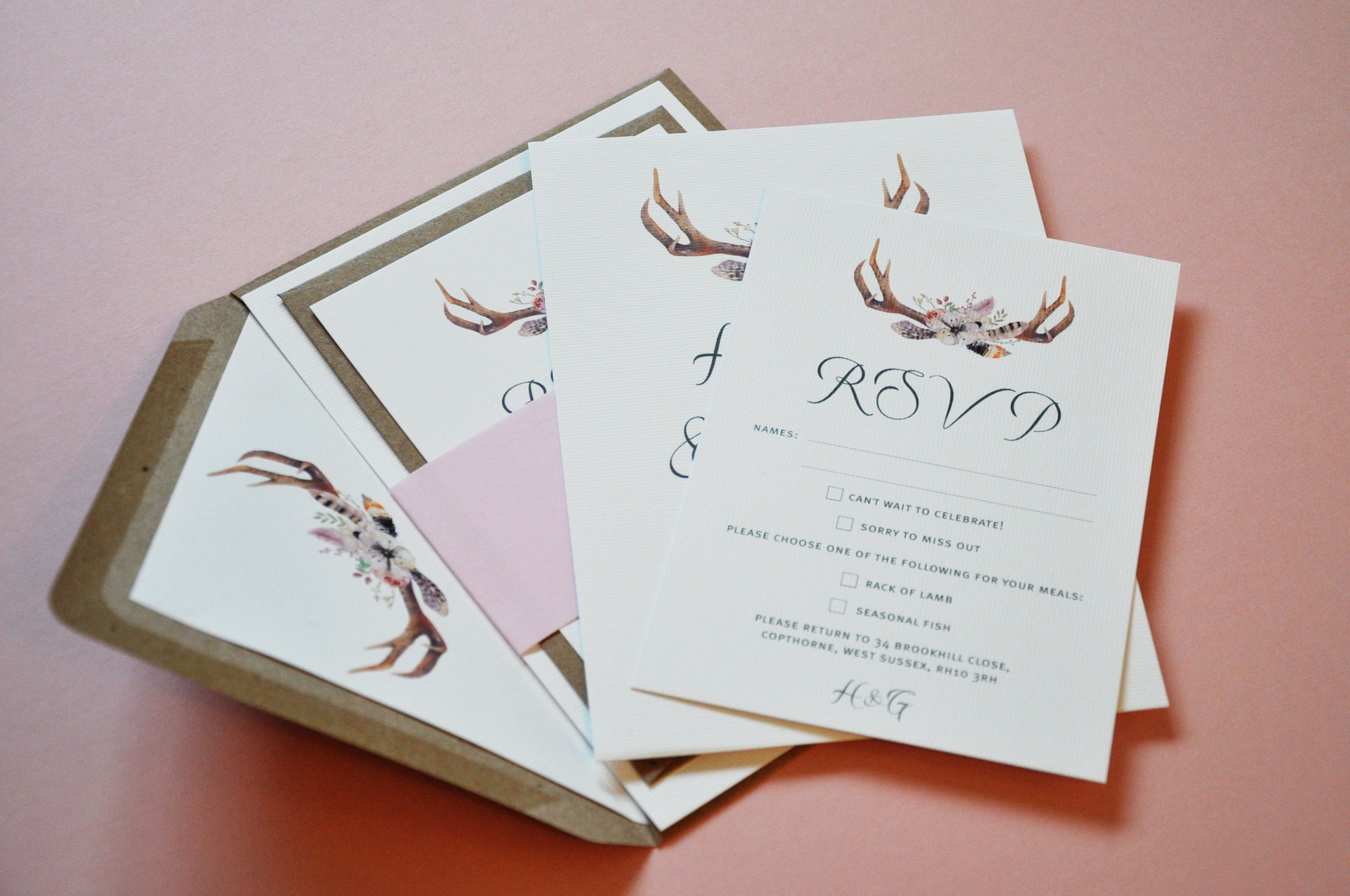 Handmade, personalised and bespoke Wedding Stationery | Wedding ...