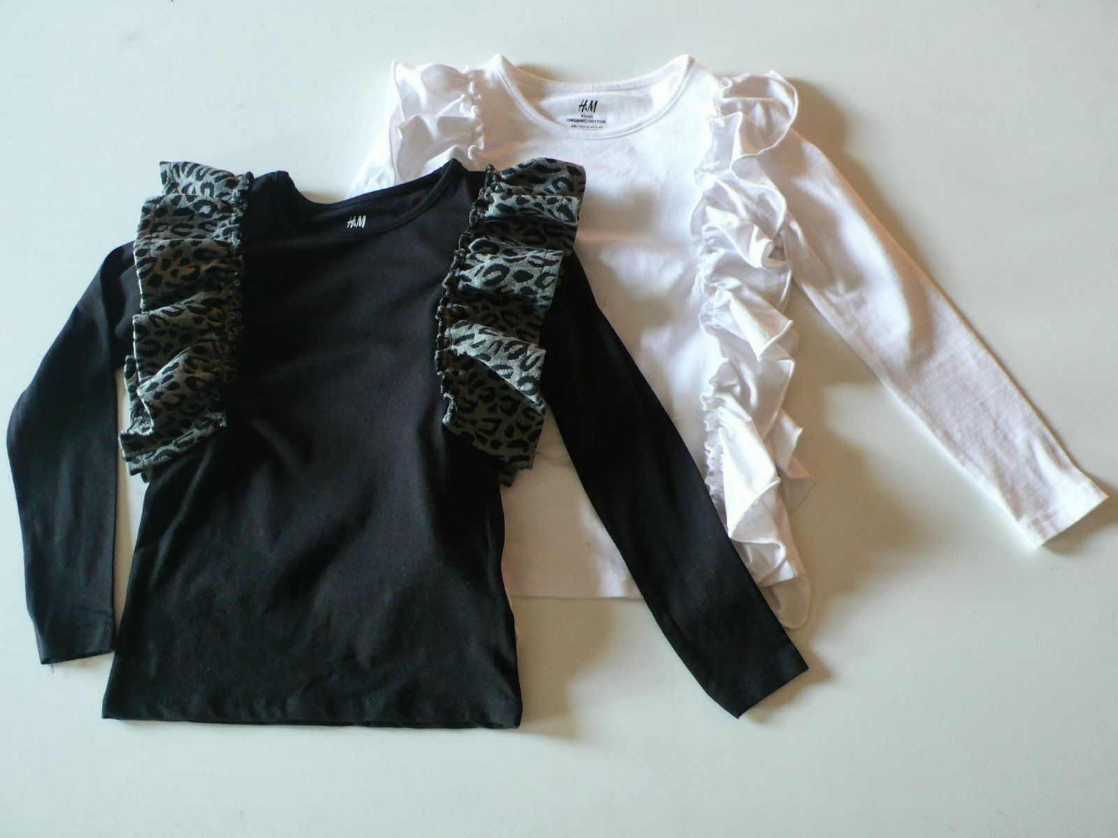 Tutorial: frilly shirts