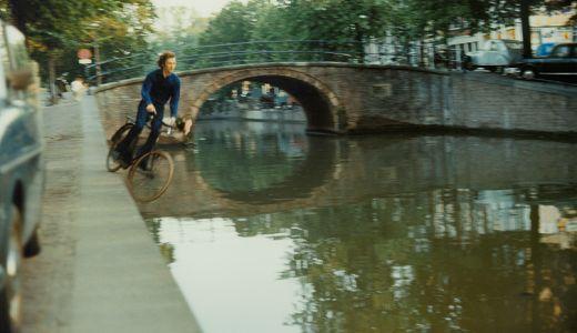 Bas Jan Ader (1942 – 1975).  Fall 2. Amsterdam 1970 .