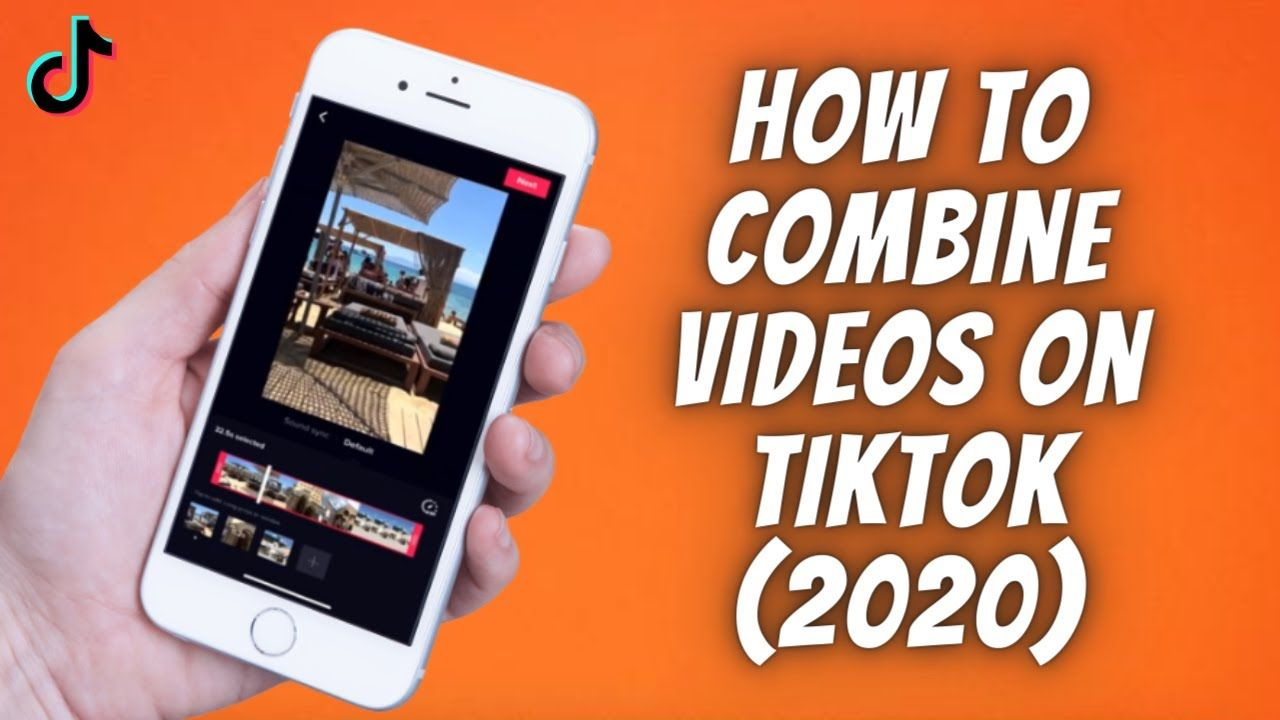 How To Combine Videos On Tiktok 2020 How To Merge Multiple Tik Tok Videos Combination Tok