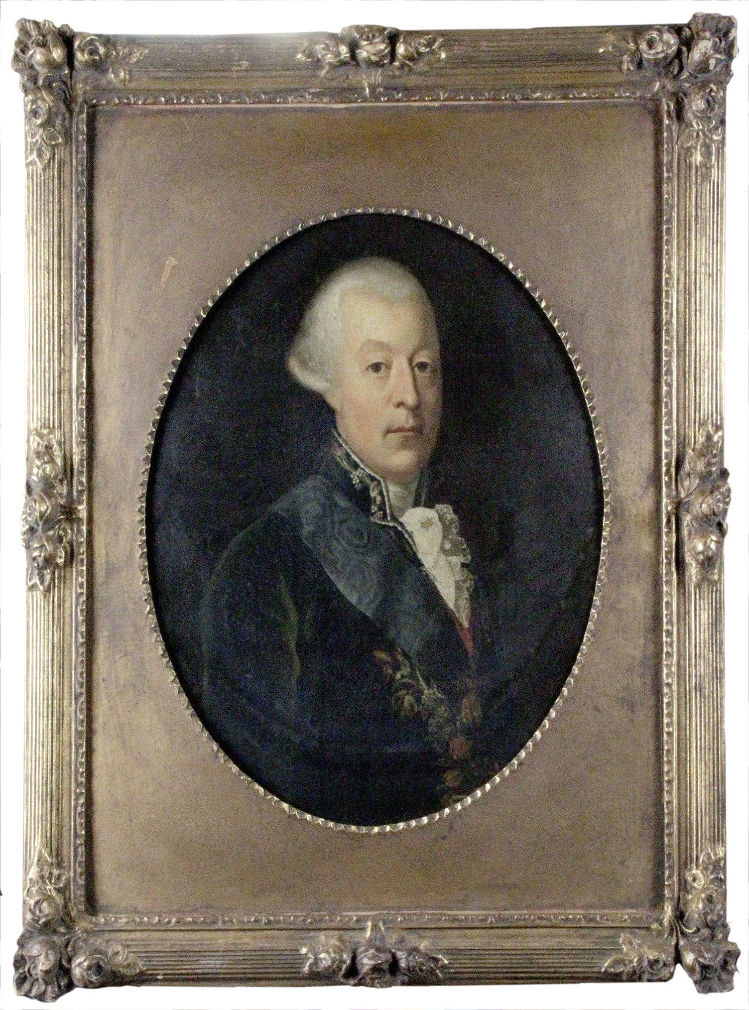 Qui sont les personnages peints sur ce tableau de Jean-Baptiste-André Gautier Dagoty ? Ce51f7d9f2b755c5ba308535b093d381