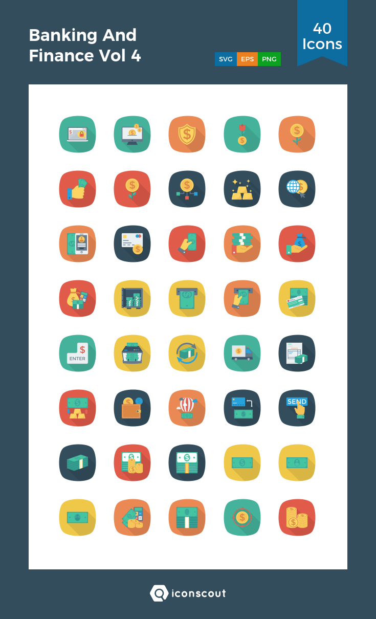 Download Banking And Finance Vol 4 Icon pack Available