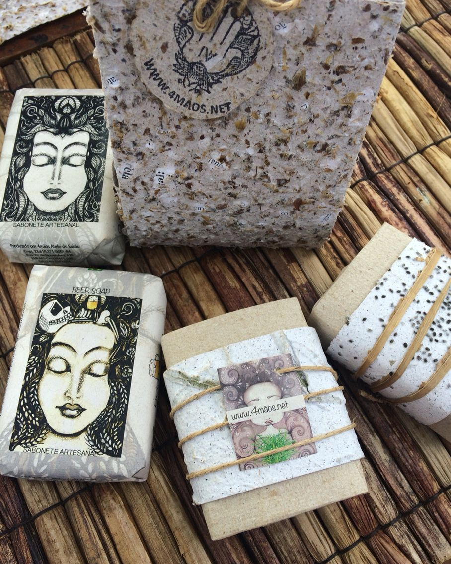 Hand made Soap & Hand made paper