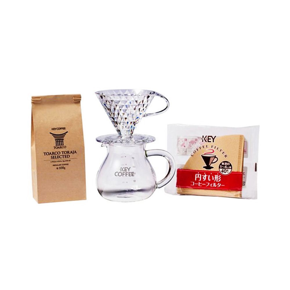 KEY COFFEE Coffee Server 2-4 People 500ml - Made in Japan #coffeeserver KEY COFFEE Coffee Server 2 - 4 People - 500ml - Takaski.com #coffeeserver