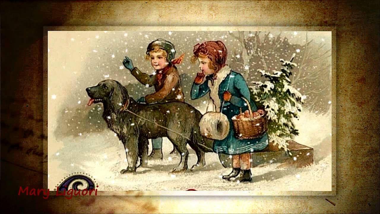 Christmas Vintage postcards album