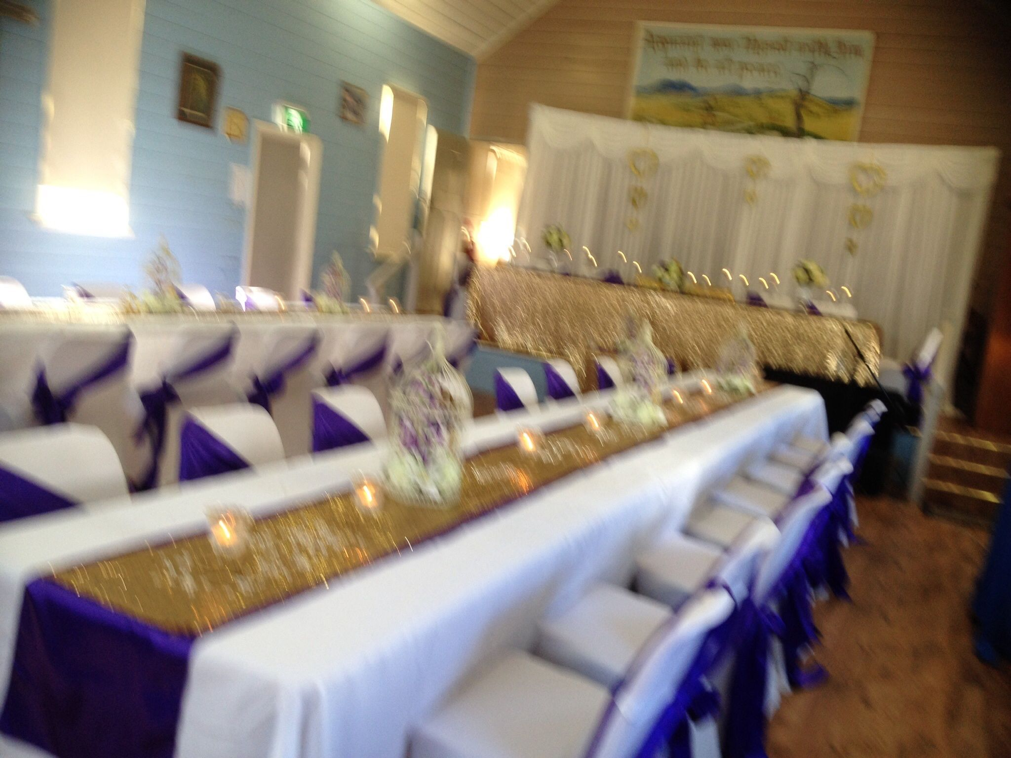 Rectangular Table, Setting For Long Tables Sequins, Gold, U0026 Glitter,  Peonies,purple, Small Weddings, Budget Wedding. Wishing Well, Bridal Table,  ...