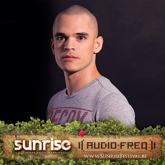His performances are truly #electrifying! There's no escaping @audiofreqdj ! #sunrisefestival