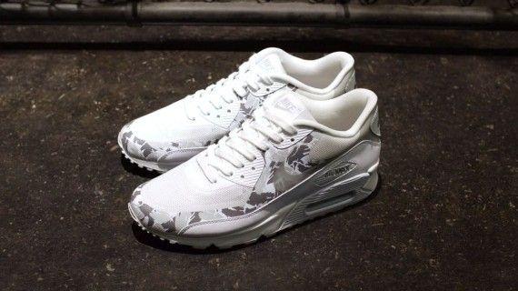 reputable site 810a1 f4426 Nike Air Max 90 Premium USATF White Camo