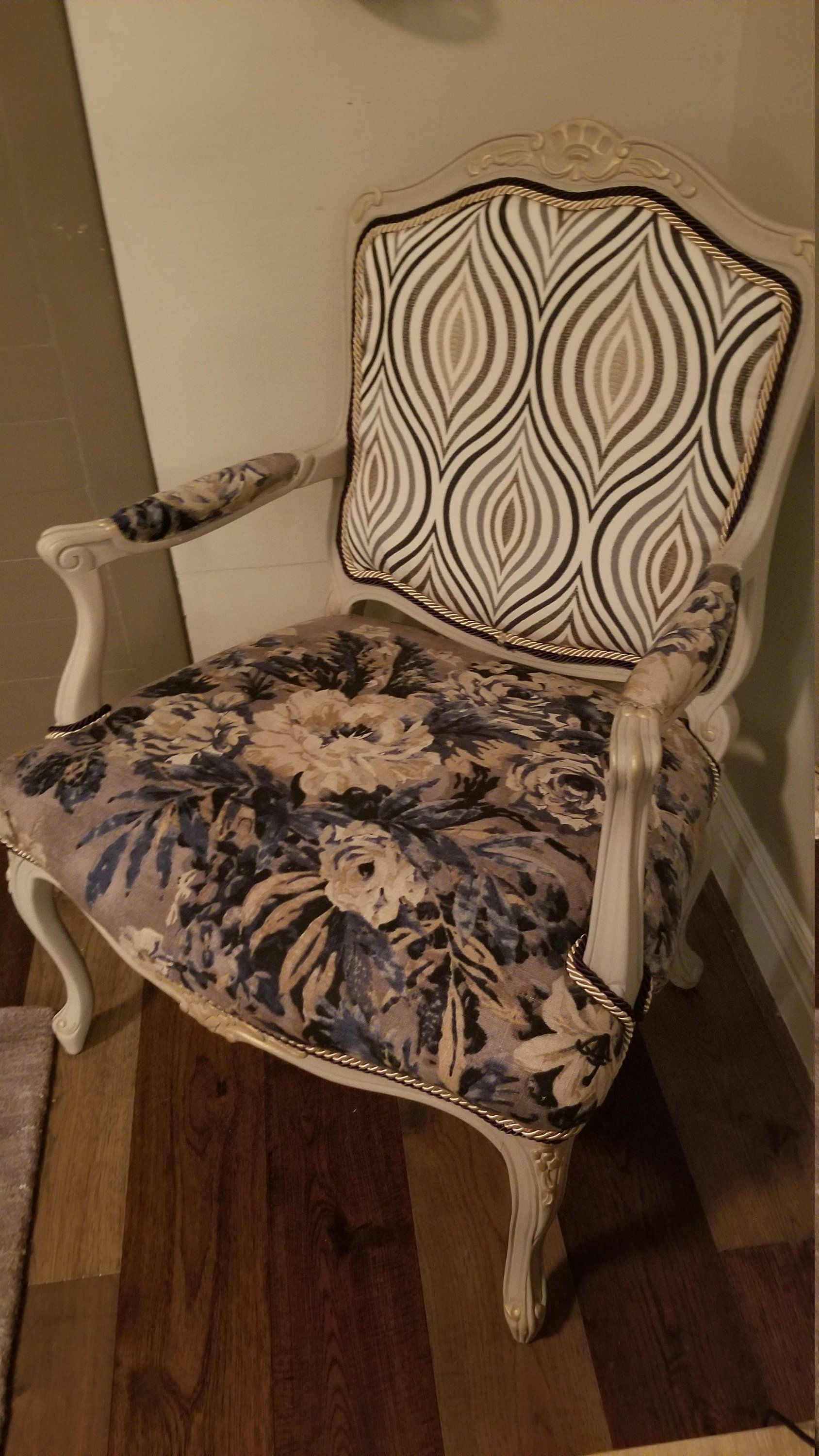 Sold Elegant French Provincial Accent Chair Accent Chairs