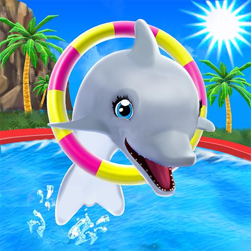 скачать игру на андроид my dolphin show мод много денег