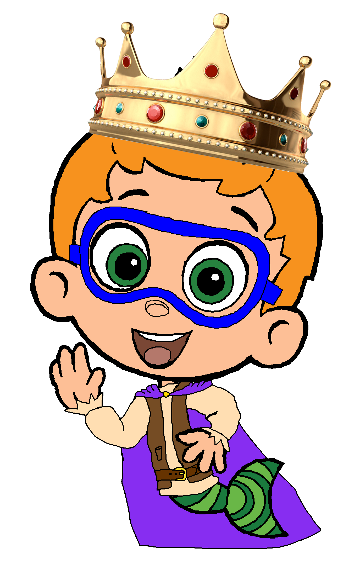 Prince-Nonny-bubble-guppies-32533776-1333-2149.png (PNG Image, 1333 ...
