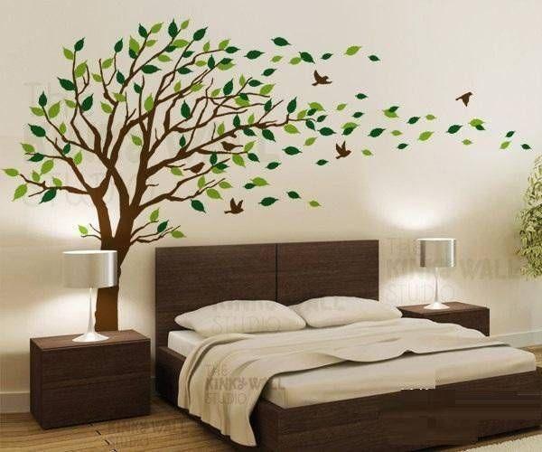 Decoracion de cuartos con arboles 1 chichiii - Decoracion de paredes de dormitorios ...