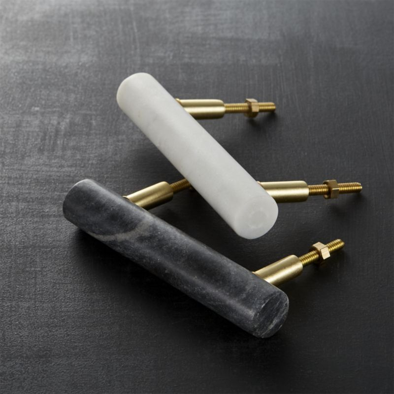 Shop marble handles. Classic material, modern idea. Beautiful ...