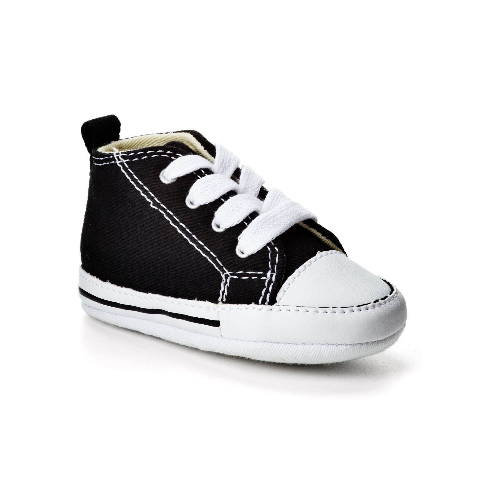 e1fec8e624c6af Baby Converse First Star Crib Shoes