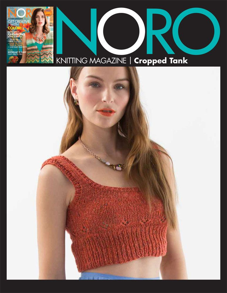 e3cbbc657 Cropped Tank in Noro Tokonatsu - 19 - Downloadable PDF. Discover more  patterns by Noro at LoveKnitting. We stock patterns
