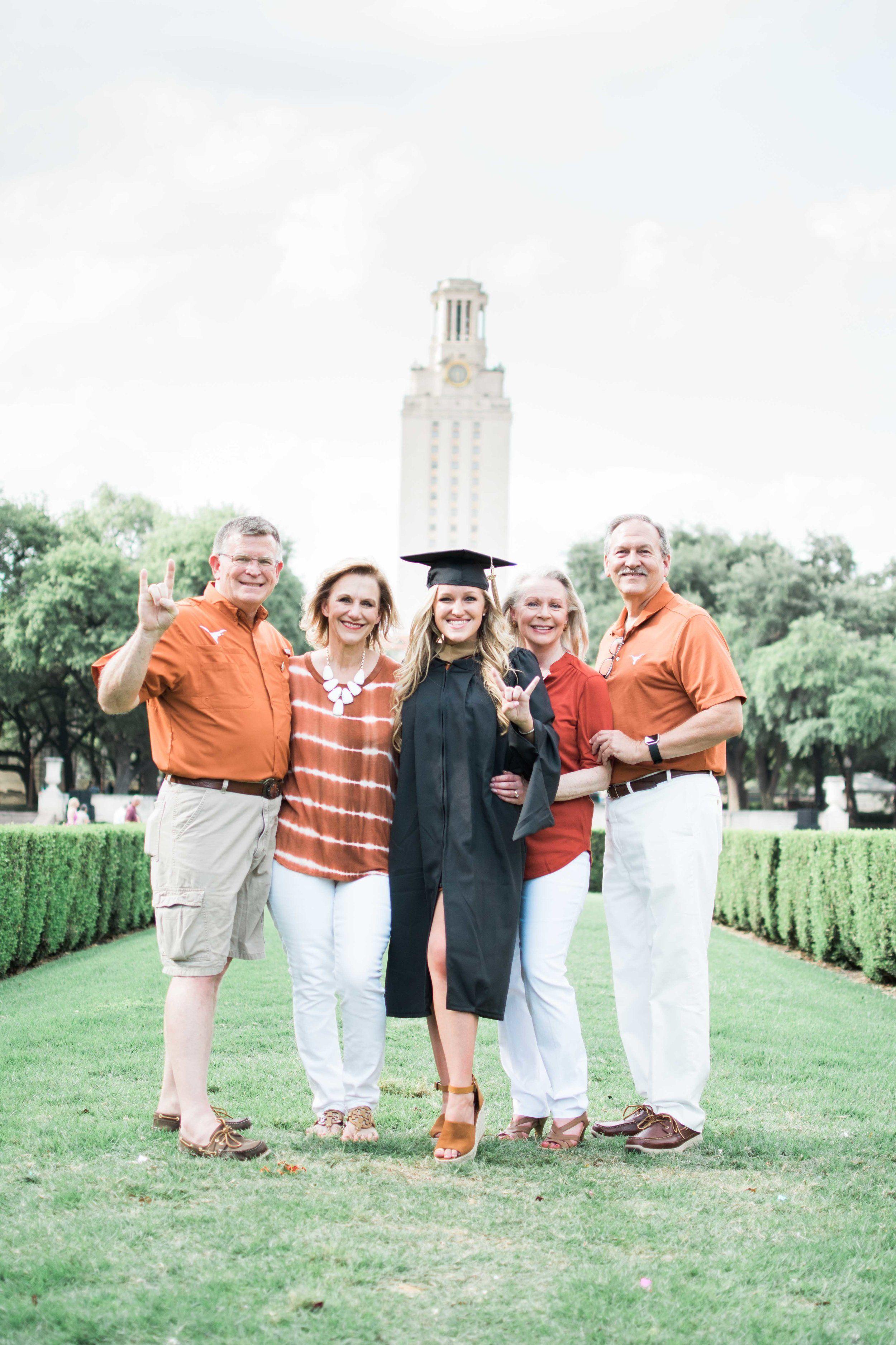 Hillary // UT Austin // Graduation Portraits // Burnt