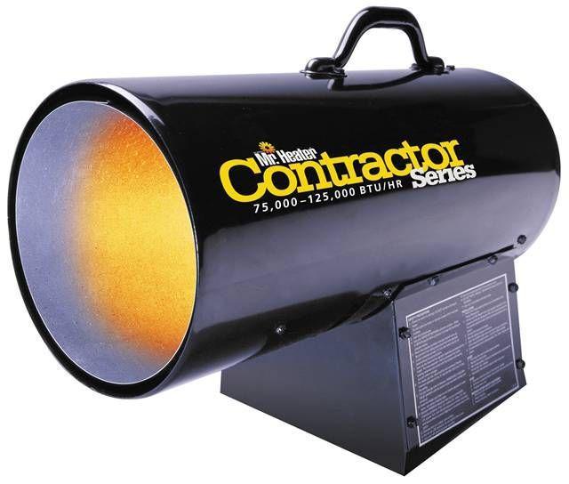 Mh125fav Propane 75 000 125 000 Btu Hr Propane Heater Heater Garage Heater