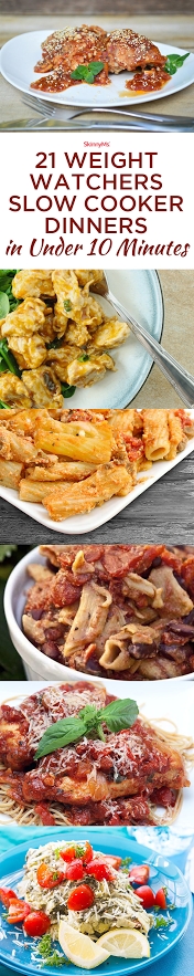 21 Weight Watchers Dinners in Under 10 Minutes