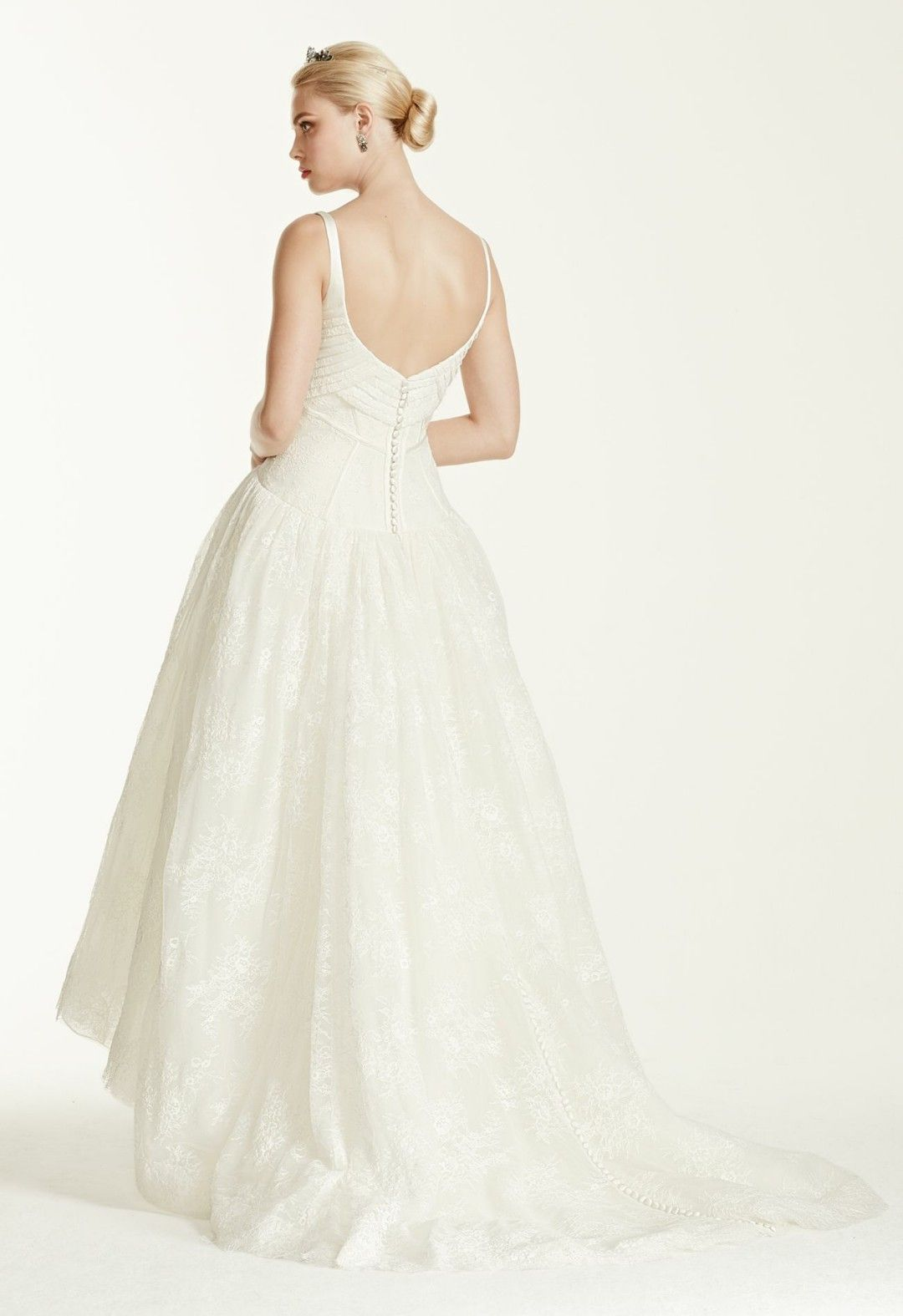 Truly Zac Posen Collection for David\'s Bridal | Bridal Gown--Ankle ...