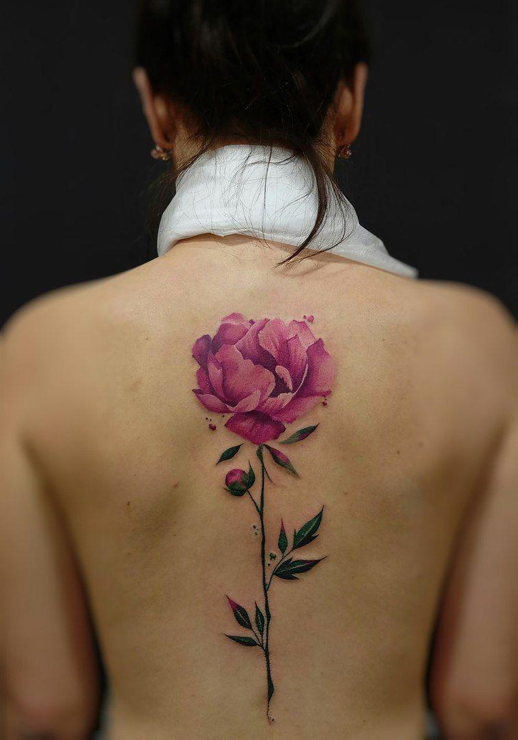 100 лучших эскизов тату пион для девушек фото значение тату