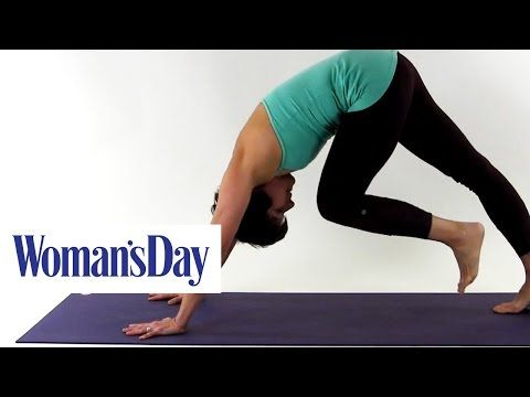 5 yoga poses for flat abs  woman's day  youtube  cool
