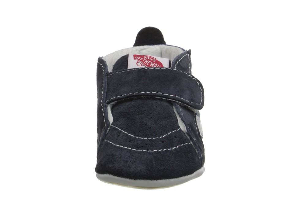 3d25a1219a Vans Kids SK8-Hi Crib (Infant Toddler) Boys Shoes Navy Navy ...