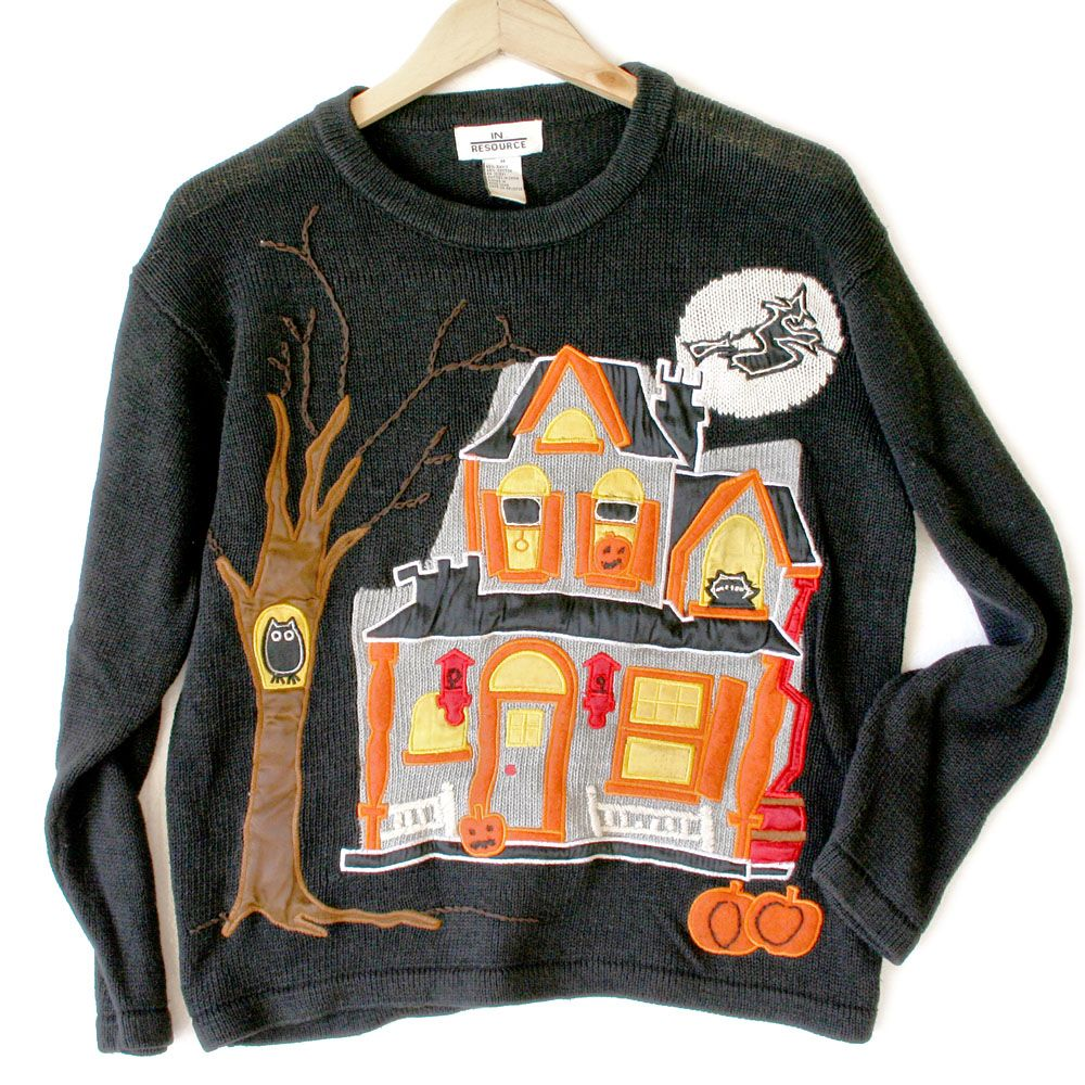 Pin on Tacky Ugly Sweaters Halloween