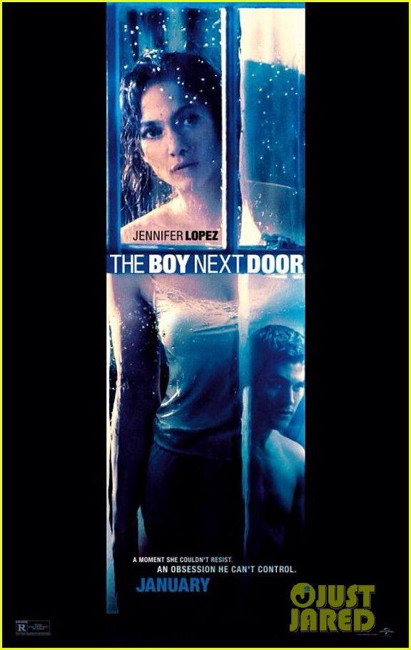 Jennifer Lopez Stares At The Boy Next Door In New Poster Doors Movie The Boy Next Door Movies To Watch