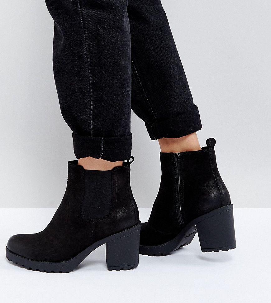 doppelter gutschein großhandel online Promo-Codes Vagabond Grace Black Leather Ankle Boots - Black | Products ...