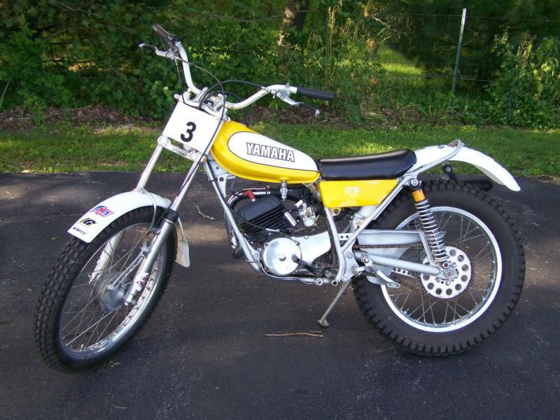 1976 yamaha ty175 trials bike ready to compete for sale on for Yamaha trials bike