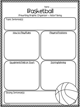 007 Compare and Contrast Writing Basketball vs. Volleyball