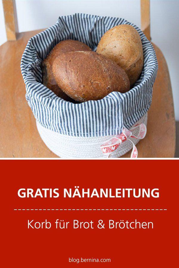 Photo of Kostenlose Nähanleitung: Korb für Brot & Brötchen