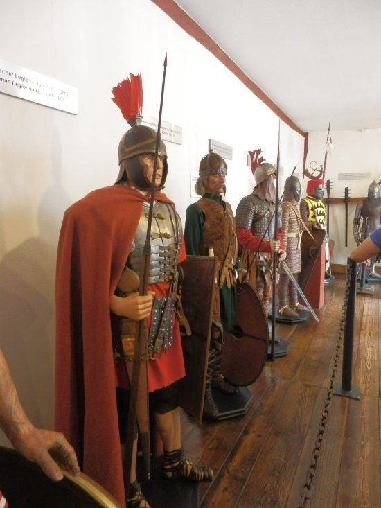 Braubach Marksburg wapenuitrustingen