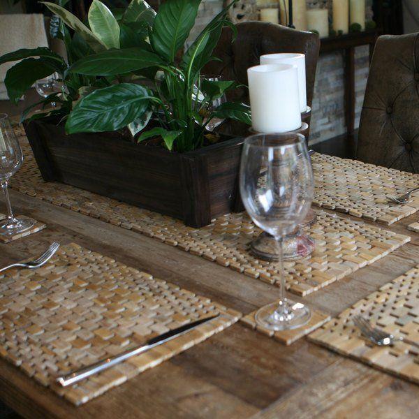 Hip O Modern Living Teak Table Runner Home Decor Diy Design