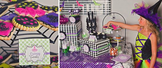 Glam-O-Ween Party, Glamoween party