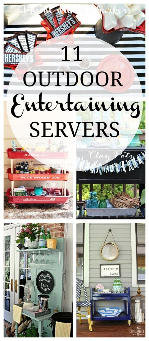 Outdoor Entertaining Servers | Outdoor entertaining, Outdoor parties ...