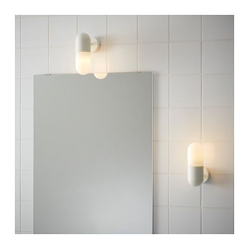 Stan wall lamp white walls sinks and lights stan wall lamp ikea aloadofball Image collections