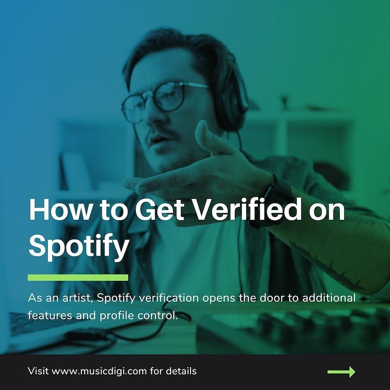 How to get verified on spotify musicdigi